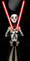 Clone Wars - Asajj Ventress by Myrcury-Art