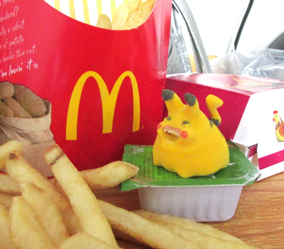 Pikachubby...Pokemon + McDonalds by TheWonderCat