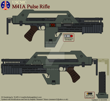 USCMC M41A Pulse Rifle by Wolff60