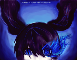 Black rock shooter by Dango-maniac