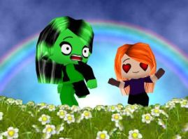 Kimmie Wants Shego by SinLikeUMeanIt
