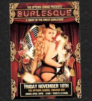 Burlesque Flyer by Hypedesignstudios
