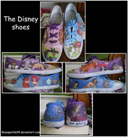 Disney Shoes by BlueSparkle94