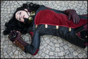 Asami Cosplay: Down Not Out by Mink-the-Satyr