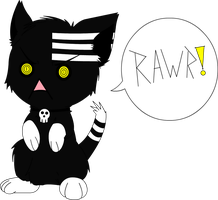 Death The Cat by Curious-Insanity
