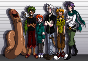 The usual suspects by GreenLiquidBrain