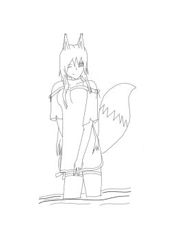 WIP : Eden OC by Forti-1-ification
