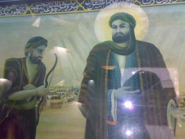 Paint of Imam Reda a.s. 2 by Emane1983