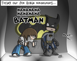 Robin Replacements by TheChildInTheCorner