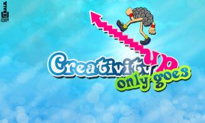 Creativity only goes up ! by Khaalil