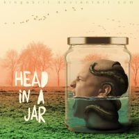 Head In A Jar - a cd cover by KingaBritschgi