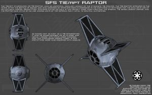 TIE/RPT Raptor ortho [New] by unusualsuspex