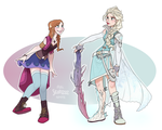 Frozen Fantasy by Skirtzzz