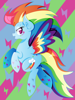 Rainbow (power) by mavdpie