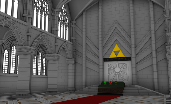 Temple of Time - WIP by corfidbizna