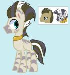Mlp: Zecora x D. Hooves for The_Wolfe_Man by BlackTempestBrony