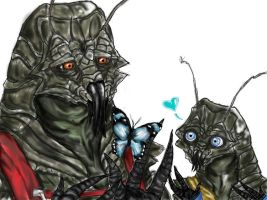 District 9:A tender moment by Corvaeus