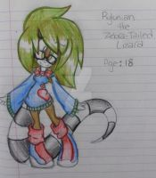 Rylunian ''Ry'' the Lizard by Tailscream