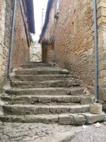 Dordogne - Staircase 1 by Maliciarosnoir-stock