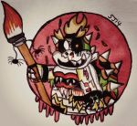 Rotting to the bone: Bowser Jr by StarJaws14