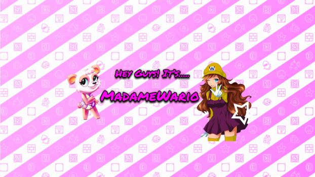MadameWario's Youtube Channel Banner! by Leafpenguins
