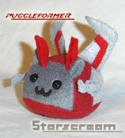 Puggleformer - Starscream by callykarishokka