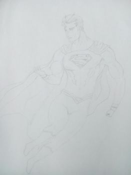 superman (the god of strength) by TherealLevelZ
