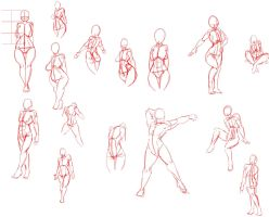 Poses stuff by ChaosSabre