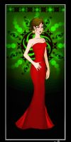 Lady in Red by TrIXInc