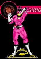 SBF Pink Racer Carranger  by RWhitney75
