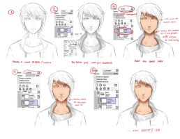 Skin coloring Tutorial by SoulTribute13