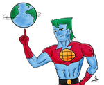 Captain Planet by jlel