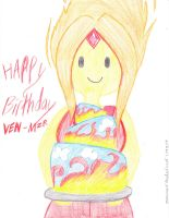 HAPPY BIRTHDAY VEN-MZR!!!!!!!! by Suemoons