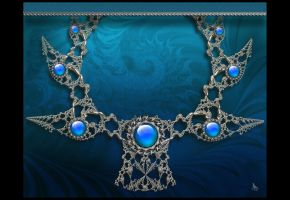 Fractal Necklace by coby01
