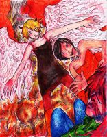 The Angel of Death + The Speedster by clemon