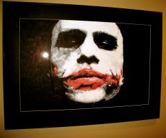 Heath Ledger's Joker by Flashback33