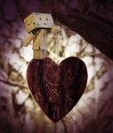 Danbo loves you by marjol3in