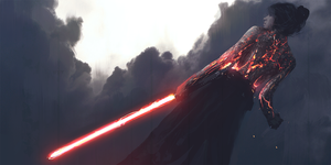 Quick Sketch - Lightsaber Execution by WojciechFus