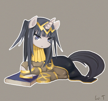 Tharja-ver-pony- by WTColor