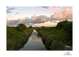 River 2 - with border and sig by Paul-Madden