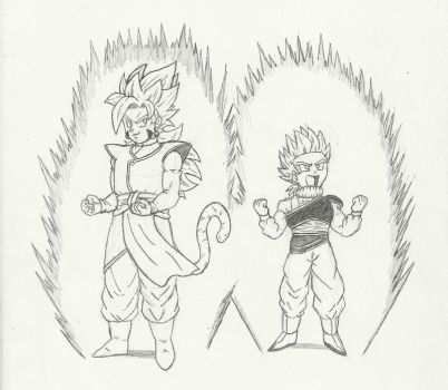 Request: Rez and Guden SSJ by chrisolian