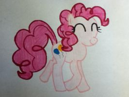 Pinkie Pie by AperatureScience