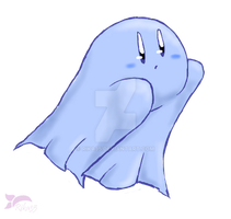 Ghost Kirby by Rika35