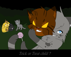 Trick or Treat child by Niutellat