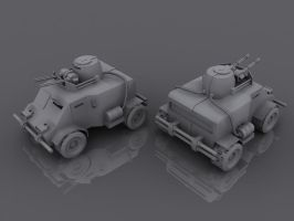 3D Work - Vehicles2 by tomkpunkt