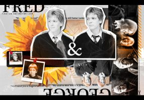 Fred and George by tian-cai