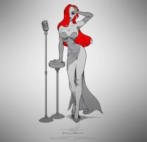 Jessica Rabbit by pardoart