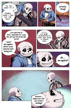 Flowey Is Not a Good Life Coach - Chap. 4, page 4 by fluffySlipper
