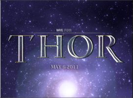My Official Thor Movie Logo by Marvel-Freshman