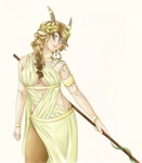 WoE: Greek Goddess by Kai-Haruru